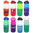 Custom 20 Oz. Mood Cycle Bottle (Full Color Digital Direct), 7 1/4