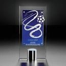 Custom Signature Series Cobalt Mondrian Award, 5