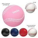 Custom Baseball Shape Stress Reliever, 2 1/4