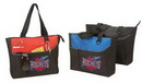 Custom Poly Tote Bag w/ Zipper (15 1/2