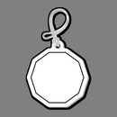 Custom Decagon Bag Tag