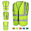 Custom Reflective Neon Safety Vest, 26
