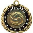 Custom Quali-Craft Volleyball Medallion