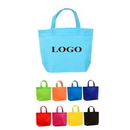 Custom 70gsm Non-woven Hand Tote Bags, 17 1/2