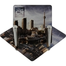 Custom Acrylic Coaster Set W/ 6 Square Coasters (3 1/2