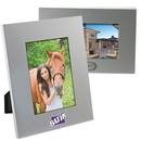 Custom Brushed Silver Metal Photo Frame (4