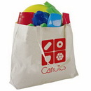 Custom Jumbo Canvas Tote Bag -- Natural Color, 20