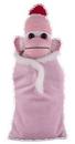 Custom Pink Sock Monkey (Plush) in Baby Sleeping bag 10