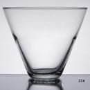Custom 13-1/2 oz Stemless Martini Glass, 3 1/2