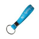 Custom Silicone wristband keychain, 8 1/4