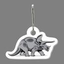 Custom Dinosaur (Triceratops) Zip Up
