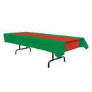 Custom Red & White Stripes Table Cover, 54