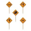 Custom Construction Sign Picks, 2 1/2