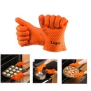 Custom Silicone Heat Resistant Oven Mitts, 7 1/3