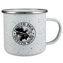 Custom 16.9 Oz. White Enamel Campfire Mug