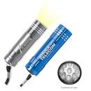 Custom 9 LED Rocket Aluminum Flashlight