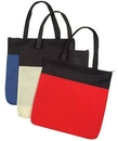Custom Non Woven Polypropylene Zippered Tote Bag (16