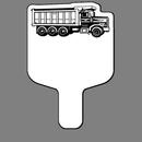 Custom Handheld Fan W/ Dump Truck
