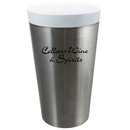 Custom CeramiSteel 18 Oz. Silver Double Wall Stainless Tumbler