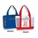 Custom Poly Mesh Tote Bag, 18