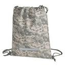Custom Digital Camo Drawstring Backpack (12 1/2