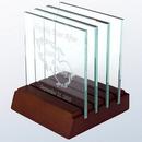 Custom Glass Square Coaster, Single, 4