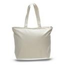 Custom Canvas Zipper Tote bag, 20