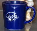 Custom Cobalt Blue Mountain Wilderness Coffee Mug
