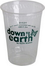 Custom Eco Friendly 10 Oz. Clear Cup (High Lines)