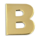 Custom Gold B Pin, 3/4
