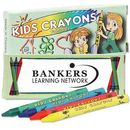 Custom 4 Pack Washable Kids Crayons