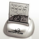 Custom Radio Controlled Alarm Clock, 3 1/2