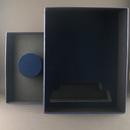 Custom 306-74002  - Award Presentation Box with Die-Cut Foam Insert with Blue Flocking