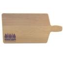 Custom Bread and Cheese Wood Cutting Board (16