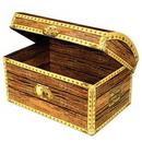 Custom Treasure Chest Box, 11 3/4