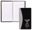 Custom Normandy 2 Tone Soft Vinyl Tally Book Cover, 3 5/8