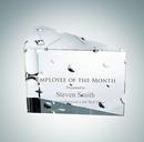 Custom Big Cheese Optical Crystal Award, 4