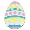 Custom Easter Egg Pin, 3/4
