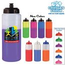 Custom 32 Oz. Mood Sports Bottle w/ Push 'N Pull Cap - Full Color Digital