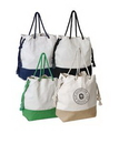 Custom Jute + Cotton Contrasting Tote, 19