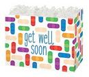 Blank Get Well Soon Large Basket Box, 10 1/4