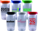 Custom 14 Oz. Chillers Travel Tumbler W/Snap Thumb Slide