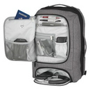 Custom Heathered RFID Computer Backpack And Briefcase, 12