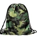 Custom Camouflage Drawstring Backpacks, 12.99