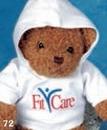 Custom Hooded Sweatshirt For Stuffed Animal (Medium)
