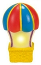 Custom Rubber Twinkling Light Hot Air Balloon, 2 7/8