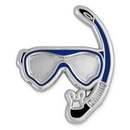 Custom Snorkel Lapel Pin, 1