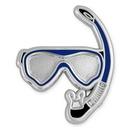 Blank Snorkel Lapel Pin, 1