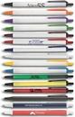 Custom Amber Retractable Pen