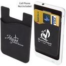 Custom The Custodian Phone Wallet - Black, 2.25